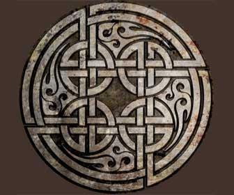 Símbolo El Nudo Perenne del Amor Celta