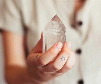 Cristal de roca para sacar buenas notas