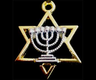 Amuleto Estrella de David