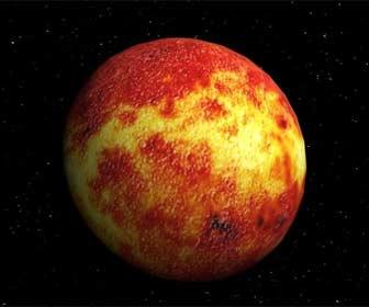 Planeta mercurio para concentrarse en el estudio