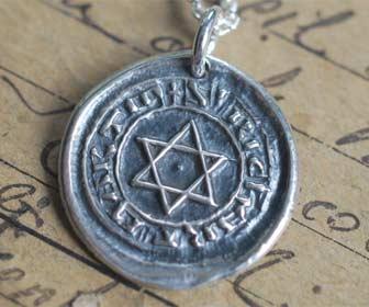 Amuleto de protección Sello de Salomón