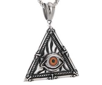 Amuletos con forma de triangulo