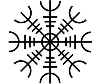 Amuletos Vikingos de Protección Aegishjalmur o El Hechizo del Temor