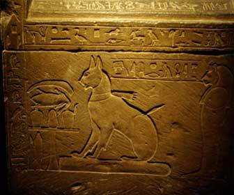Amuleto egipcio del Gato