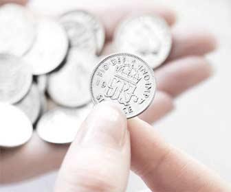 Moneda brillante