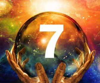 Significado espiritual del número 7