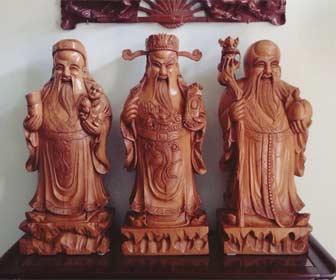 Tres Dioses Chinos